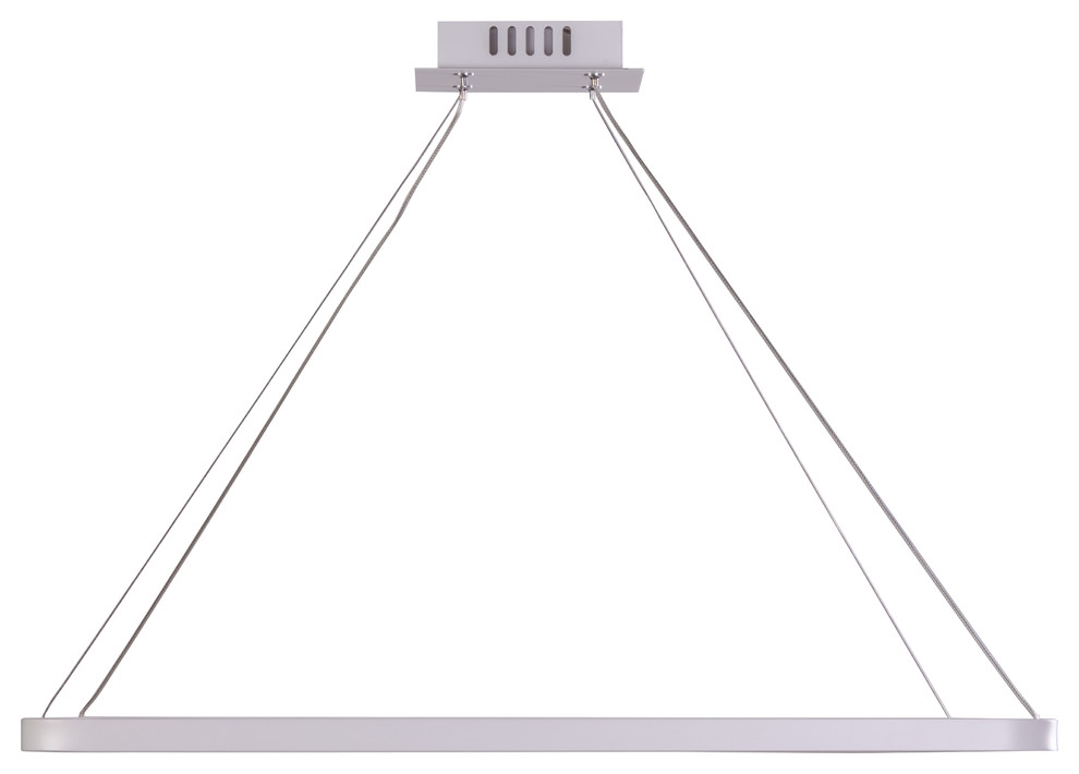 Finesse Decor Floating Rectangle Chandelier