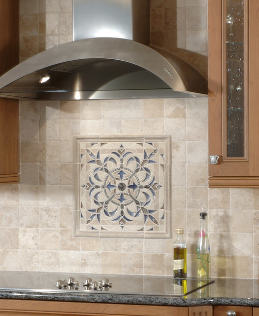 Sonoma Tilemakers Backsplash Medallion Mediterranean