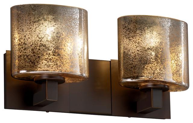 Justice design group justice design fsn 8922 30 modular 2 light bath bar led reviews houzz - Justice design bathroom lighting ...