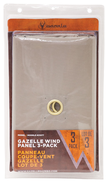 Gazelle Wind Panel 3-Pack.
