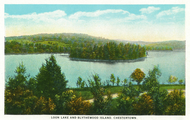 Quot Chestertown New York View Of Loon Lake And Blythewood