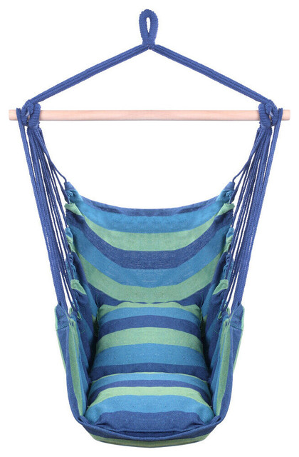 Prime Hammock Chair With 2 Pillows Blue Hammock Chair Inzonedesignstudio Interior Chair Design Inzonedesignstudiocom