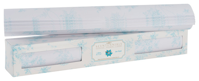 Original Series Scented Drawer Liners, Sea Fresh,, 12 Sheets.