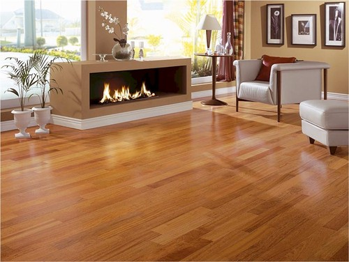 What Color Tiles Or Marble Floors Would Match This Brazilian Cherry Wooded Flooring