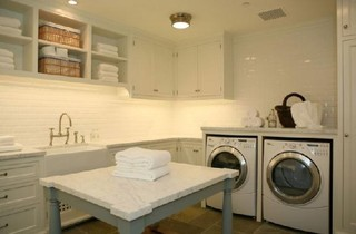 Laundry contemporary laundry room