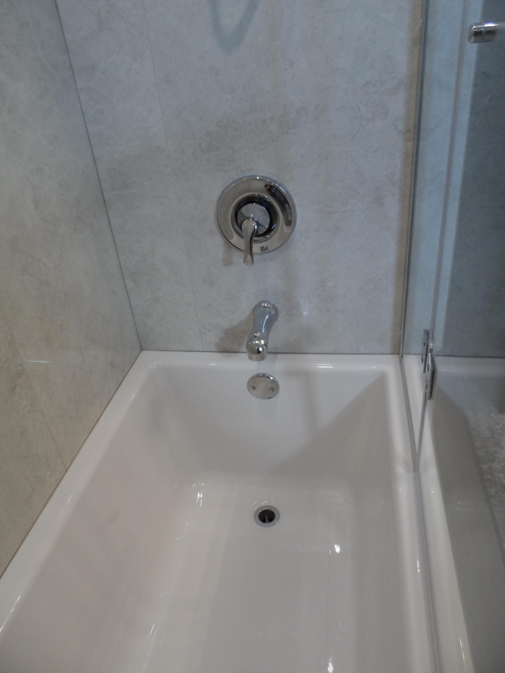 Pretty little main bath upgrade