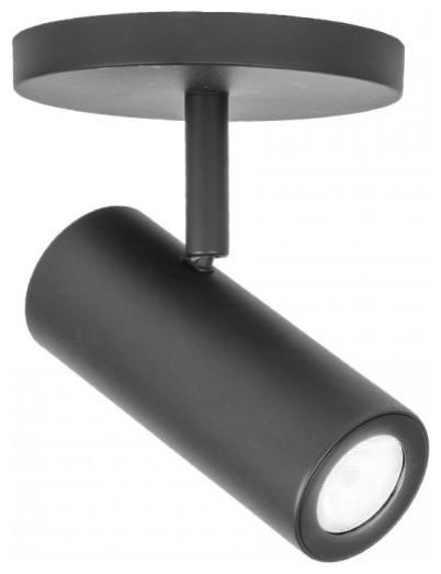 "Silo X10 Single Light 6"" LED Monopoint Flood Beam Accent Light, Black"