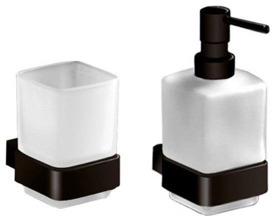 Wall Mounted Soap Dispenser And, Bathroom Soap Dispenser And Toothbrush Holder