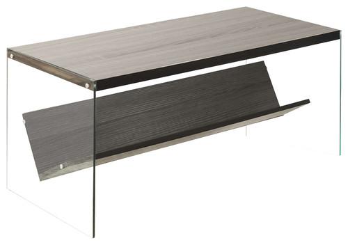 Soho Coffee Table, Weathered Gray