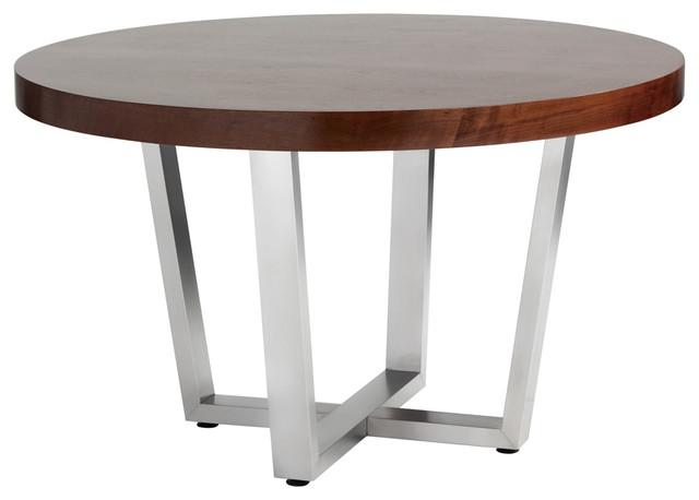 "Estero Round Dining Table, 51.5""."