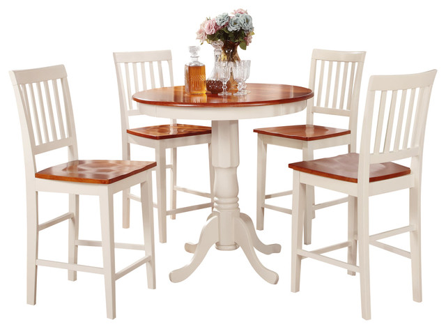Genial 3 Pc Counter Height Dining Set Counter Height Table And 2 Kitchen Chairs