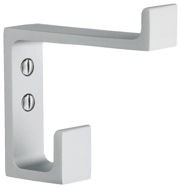 Smedbo Coat Hook Aluminum Height 2 7/8 Inch.