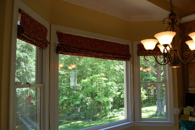 Only From Scratch Faux Roman Shades For The Kitchen