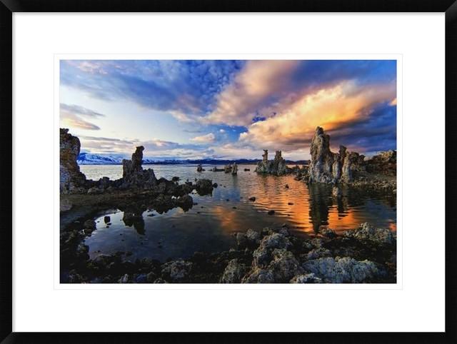 """""""Magical Mono Lake"""" Artwork, 28""""x20.7"""""""
