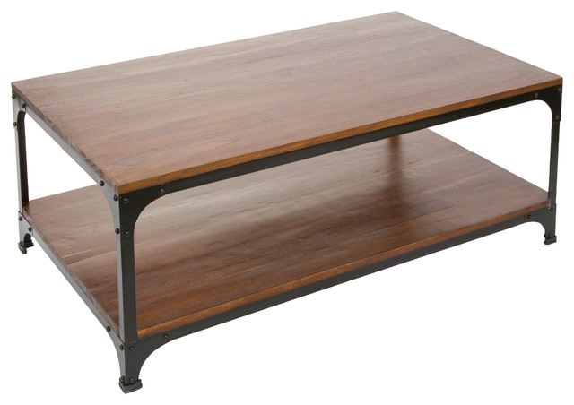 Industrial cherry coffee table rustic coffee tables for Rustic cherry coffee table
