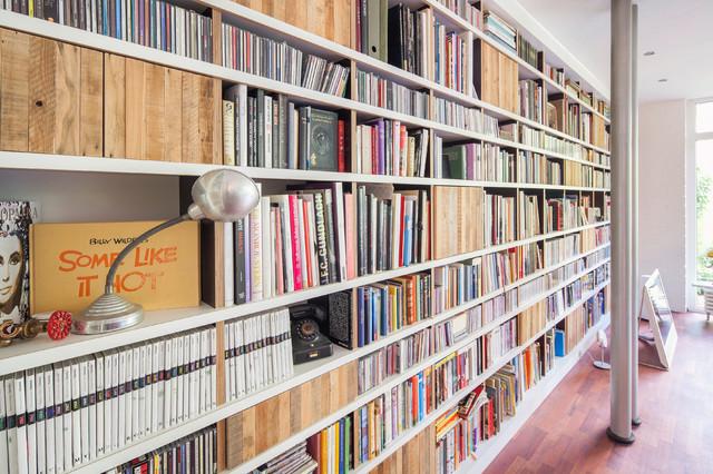 Bücherwand Altholz - Modern - Dortmund - von Julian Walbeck ...