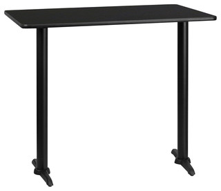Flash Furniture Rectangular Bar Table Traditional