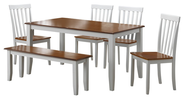 6 Piece Bloomington Dining Set BlackCherry  : transitional dining sets from www.houzz.com size 640 x 344 jpeg 41kB