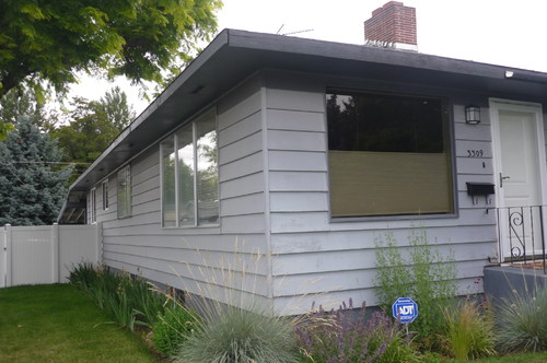 Good ... Box House Look Great From The Outside. We Are Replacing The Windows And  Painting (obvious) But I Am Desperate For A Front Porch/pergola And Walkway!
