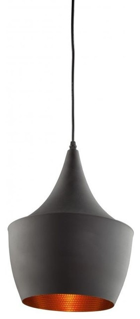 Mccallister Pendant Light, Matte Black.