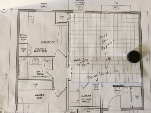 How can i fit a kitchen dining and living room in a 16 39 x for 8 x 12 room design