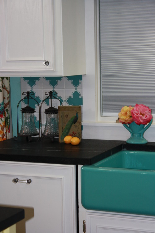 Fun Kitchen Colors need a pop of color in your kitchen? try kohler's apron front sinks!