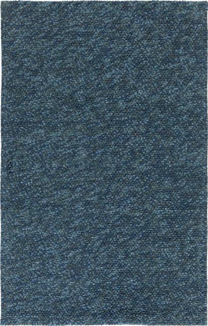 surya confetti confett 8 navy dark blue teal rug contemporary area rugs by plushrugs. Black Bedroom Furniture Sets. Home Design Ideas