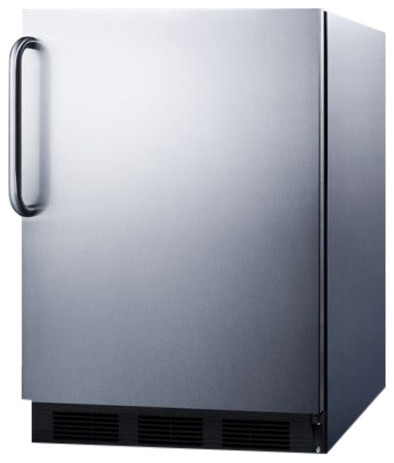 Built-In Undercounter All Refrigerator, Stainless Steel.
