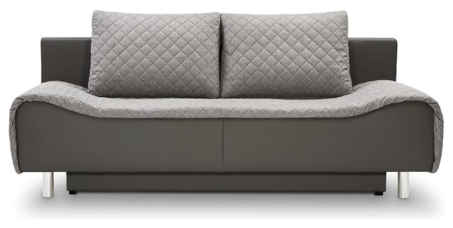 Delightful Fredo Sofa Bed With Storage Contemporary Futons