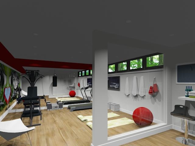 95+ Design Home Gym Layout - Home Gym Designs, Layout Ideas Homey ...