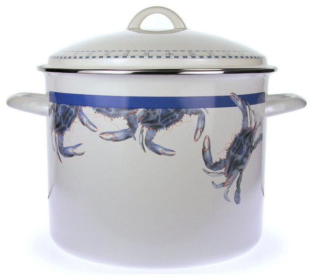 Blue Crab Stock Pot, 18 Qt..