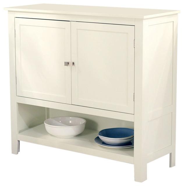 Kitchen Dining Storage Cabinet Sideboard Buffet, Antique