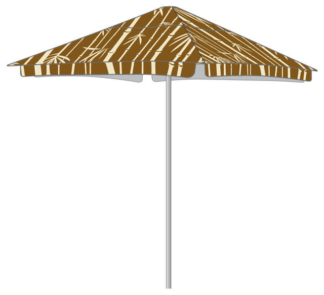 Classic Bamboo Umbrella Only.