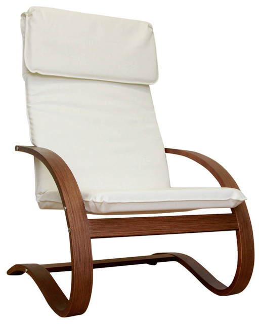 Stockholm Contemporary Bentwood Lounge Chair Contemporary Armchairs And A