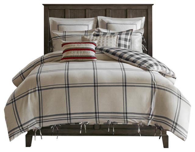 Reversible Cotton Comforter Set