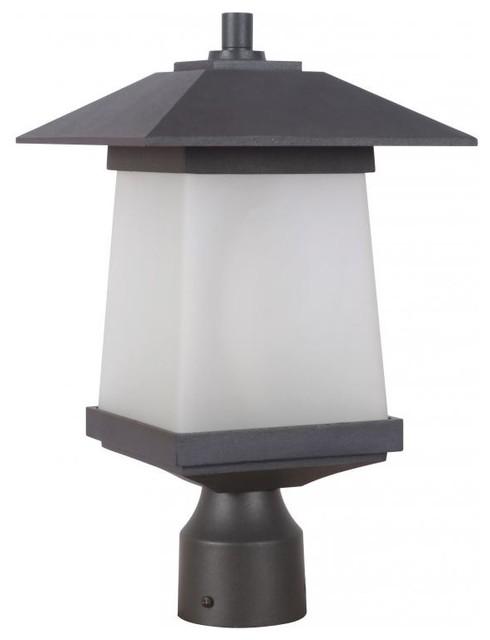 Novelty Lamp Posts : Craftmade Z2015-14-Nrg Post Mount - Novelty Lighting - by LampUniverse