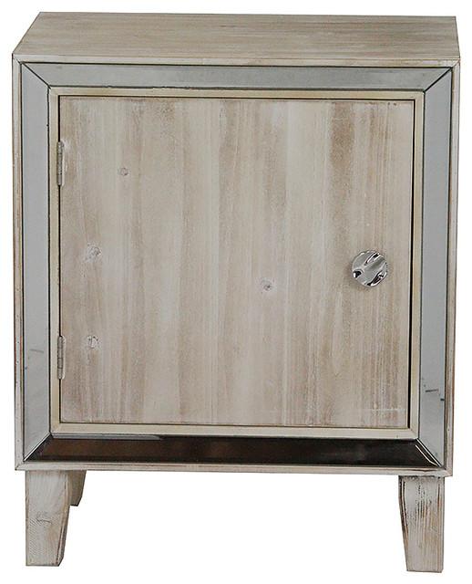 Bon Marche 1 Door Accent Cabinet With Mirror