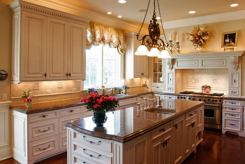 Exceptional What Light Color (non Gold Or Yellow) Granite Goes With White Cabinets