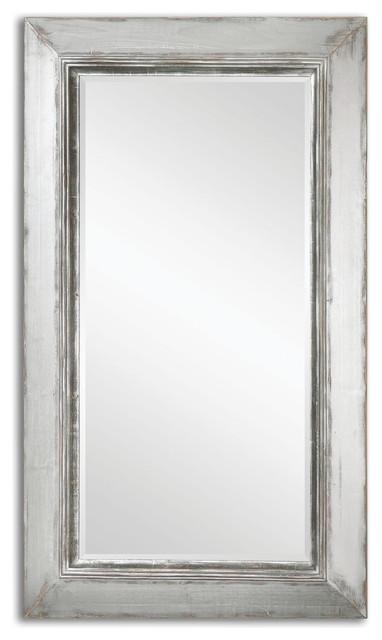 Uttermost Lucanus Oversized Silver Mirror.