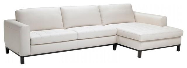 Natuzzi Editions Transitional Leather Sectional Sofa B694 transitional-sectional-sofas