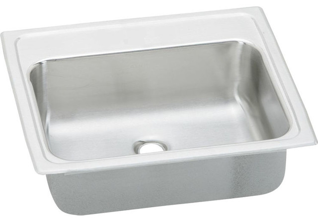 Elkay Pslvr1917lo0 Pacemaker Stainless Steel Single Bowl