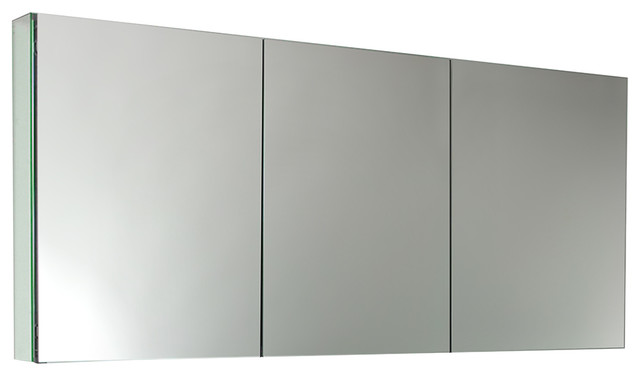 Fresca 60 Wide X 26 Tall Bathroom Medicine Cabinet