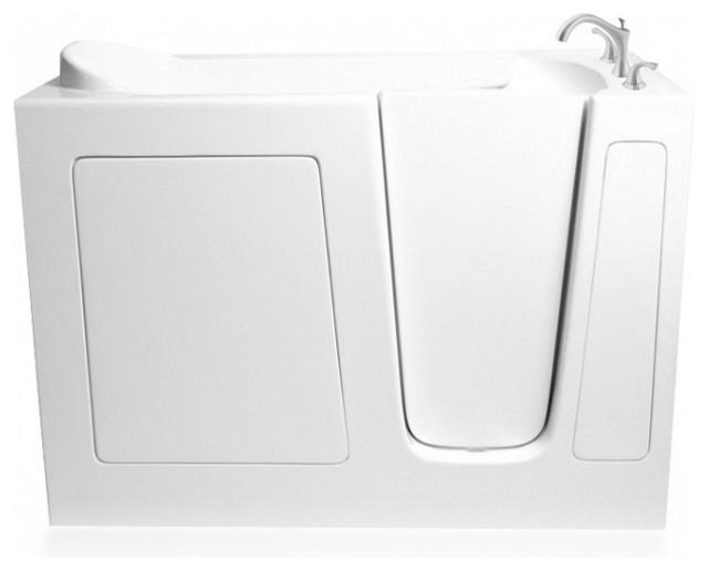 Ariel Ezwt-3054 Walk-In Bathtub  Soaker R 54x30x39.