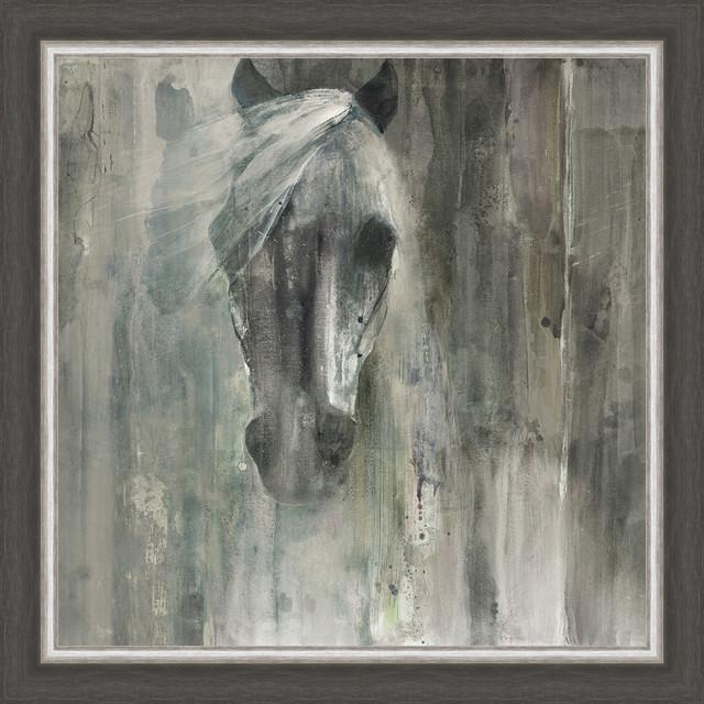 """shadow Light"" Framed Canvas Wall Art, 28""x28""."