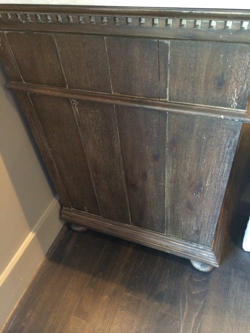 Antique Coffee look  What colors products to use  Need to tell our  cabinet maker exactly what we are wanting so thought it would be helpful to  have some. Restoration Hardware Antique Coffee