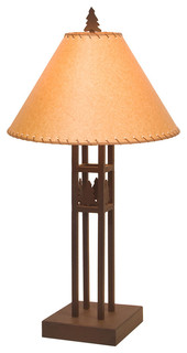 Table Lamp - SCOTTSDALE - Rustic - Table Lamps - by Steel Partners ...
