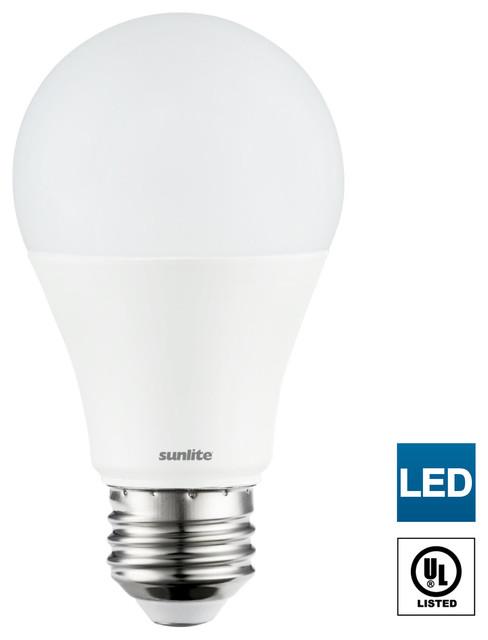 Sunlite Led A19 Bulbs Non Dimmable 14 Watt Medium Base 50k Super White