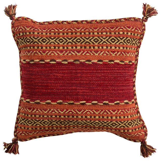 Southwestern Throw Pillow Covers : Shop Houzz Surya Trenza Pillow Cover 18x18x0.25 - Decorative Pillows