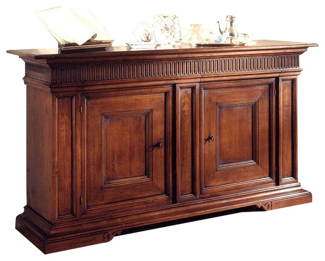 Sideboard David Michael Rustic Solid Walnut Traditional Buffets And Sideboards By
