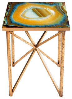 Agate Side Table Transitional Side Tables And End